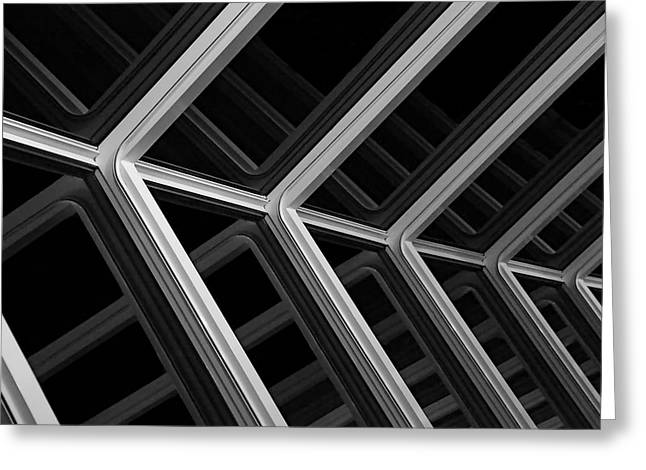 White Photographs Greeting Cards - Escher Like Greeting Card by Metro DC Photography