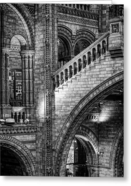 Great Architect Greeting Cards - Escheresq BW Greeting Card by Heather Applegate