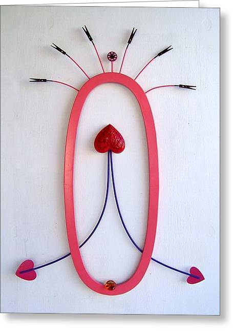 Erotic Sculptures Greeting Cards - E.s.p. Greeting Card by Jim Horne