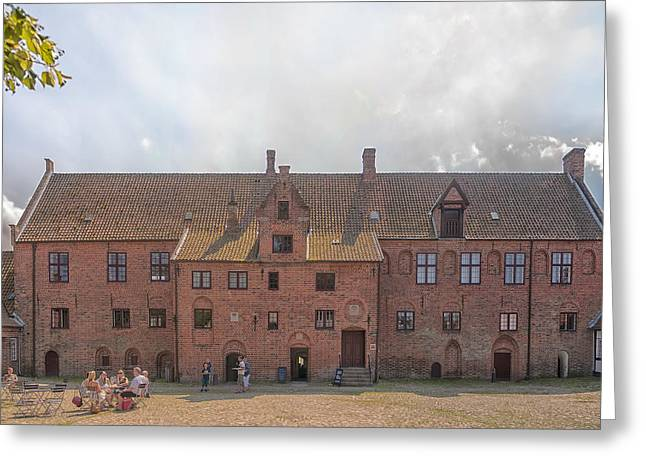 Kloster Greeting Cards - Esrum Kloster Greeting Card by Antony McAulay