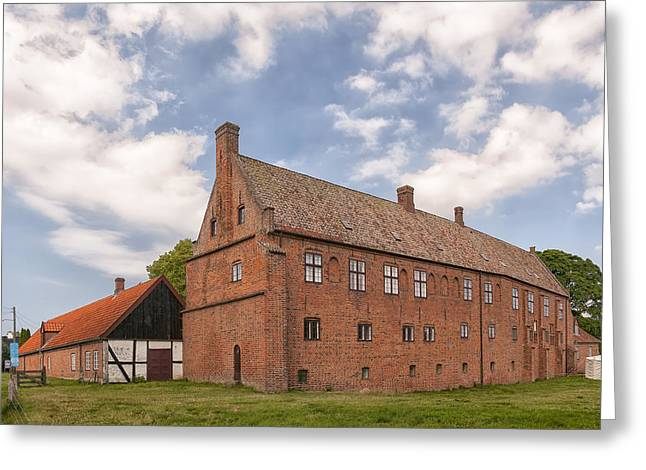 Kloster Greeting Cards - Esrum Kloster from rear Greeting Card by Antony McAulay