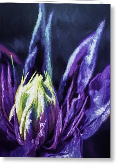 Garden Greeting Cards - Eternal Blossom Greeting Card by Jean OKeeffe Macro Abundance Art