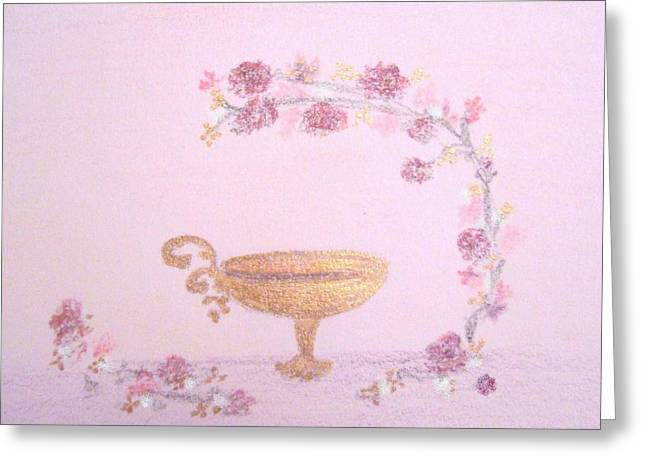 Goblet Pastels Greeting Cards - Eternal Convenant Greeting Card by Christine Corretti