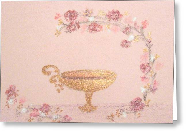 Jesus Pastels Greeting Cards - Eternal Covenant  Greeting Card by Christine Corretti