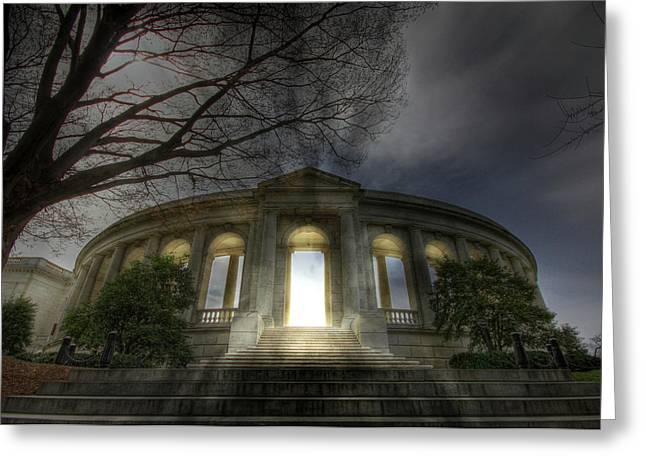 Soldiers National Cemetery Digital Art Greeting Cards - Eternal Life Greeting Card by Lori Deiter