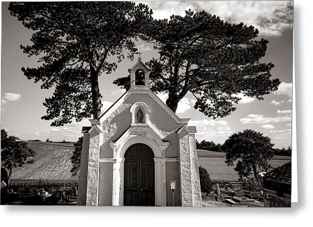Chapel Photographs Greeting Cards - Eternal Rest Greeting Card by Olivier Le Queinec