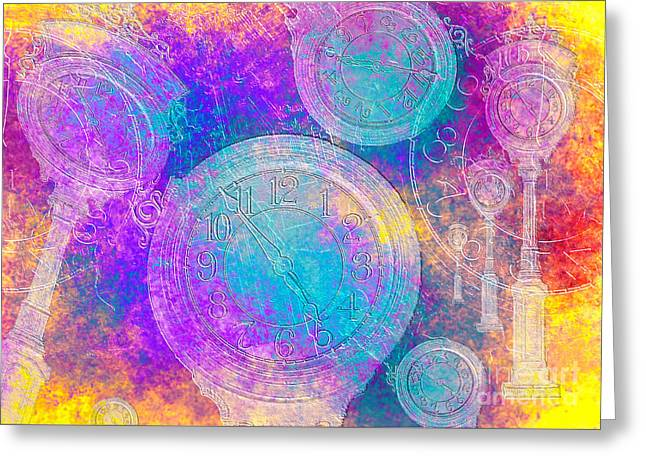 Daughter Gift Mixed Media Greeting Cards - Eternally Greeting Card by Claudia  Ellis