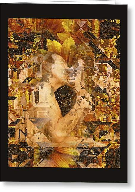 Hugging Greeting Cards - Eternally Yours Greeting Card by Kurt Van Wagner