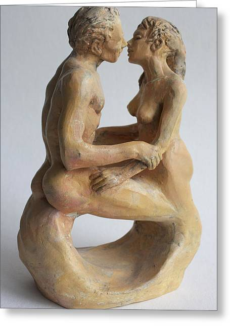 Women Sculptures Greeting Cards - Eternity Greeting Card by Derrick Higgins