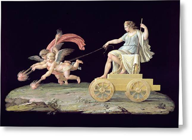 Chariot Greeting Cards - Eternity Greeting Card by Michelangelo Maestri