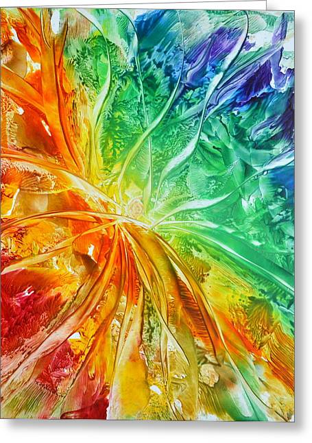 Full Spectrum Greeting Cards - Eternity Greeting Card by Michelle Hicks