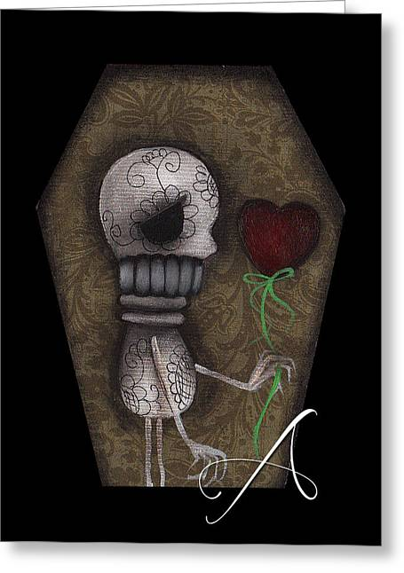 Surreal Pop. Abril Greeting Cards - Eternity without You Greeting Card by  Abril Andrade Griffith