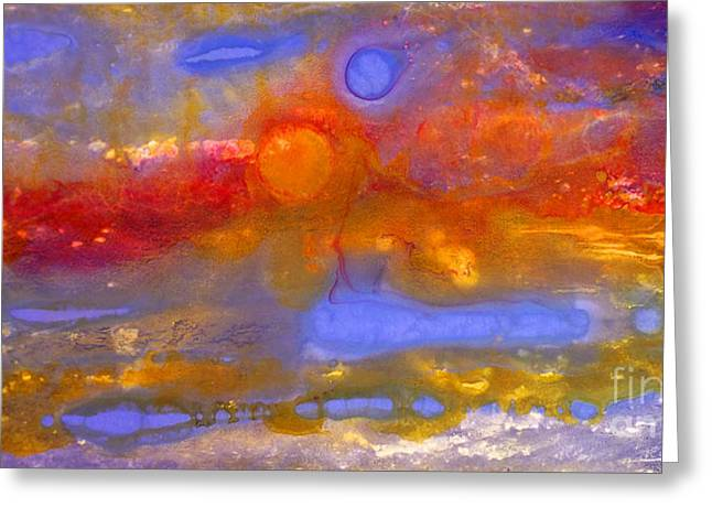 Macrocosm Greeting Cards - Ethereal Ecstasy Greeting Card by Todd Karleskein