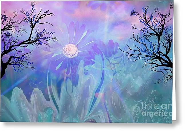 Ethereal Love Greeting Card by Sherri  Of Palm Springs