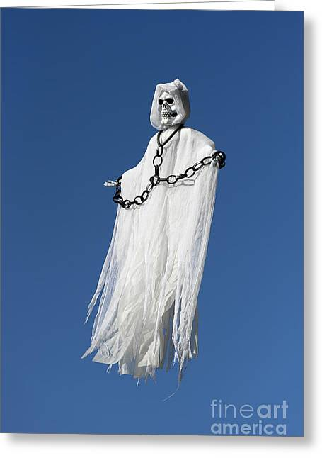 Holloween Greeting Cards - Ethereal Spirit Greeting Card by John Greim
