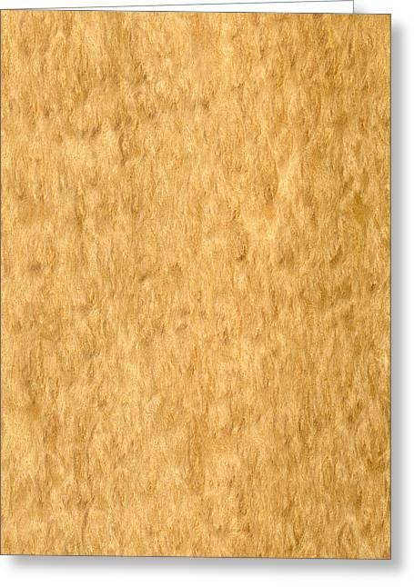 Veneer Greeting Cards - Eucalyptus Burr Veneer Greeting Card by Hakon Soreide