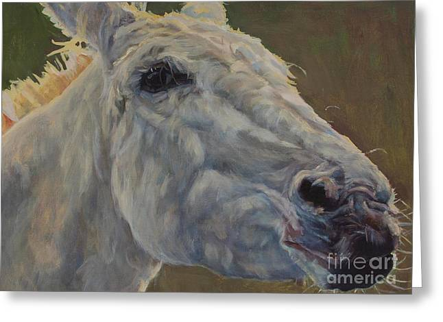 Western Western Art Greeting Cards - Eunice Greeting Card by Patricia A Griffin