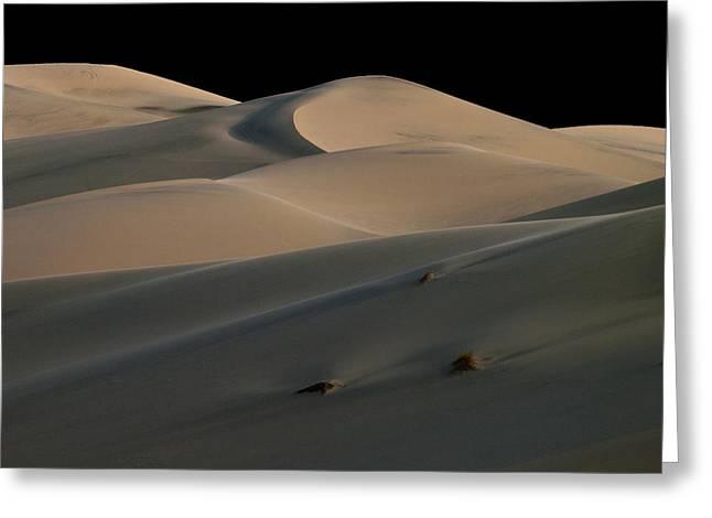 Sanddunes Greeting Cards - Eureka Dune Dreams Greeting Card by Joe Schofield