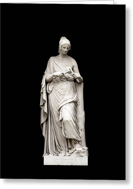 Sculpture Art Greeting Cards - Euritmia Greeting Card by Fabrizio Troiani