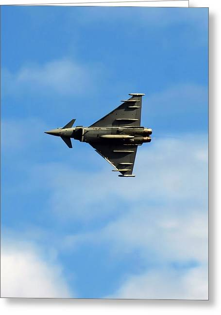 Arial Greeting Cards - Eurofighter undercarraige Greeting Card by Sharon Lisa Clarke