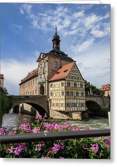 Europe, Germany, Bamberg, Altes Greeting Card by Jim Engelbrecht