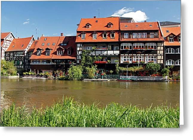Europe, Germany, Bamberg Greeting Card by Kymri Wilt