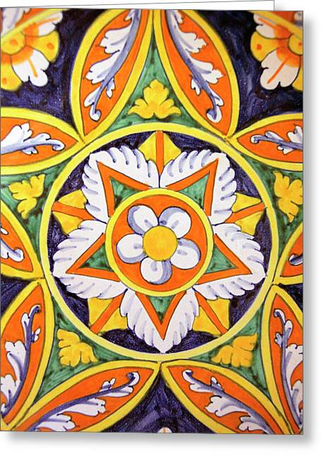 Europe, Italy Traditional Hand-painted Greeting Card by Kymri Wilt