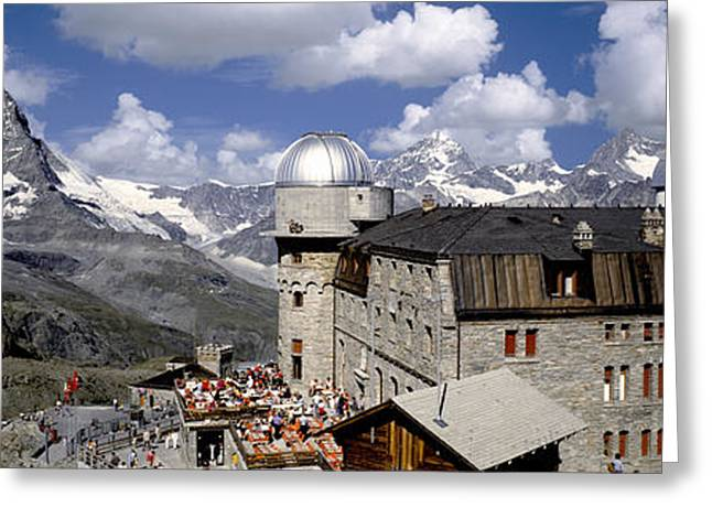 Europe, Switzerland, Zermatt, Gornegrat Greeting Card by Tips Images