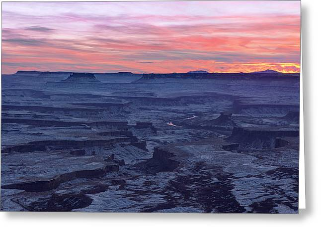 Erosion Greeting Cards - Evanescence Greeting Card by Chad Dutson