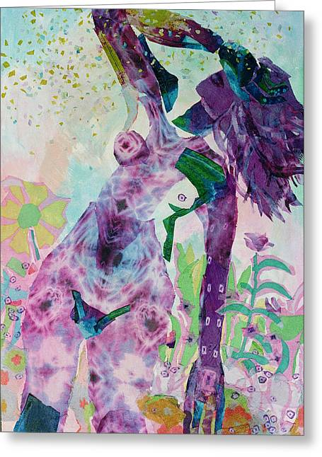 Evanescence Greeting Card by Diane Fine
