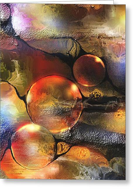Evanescence Greeting Card by Francoise Dugourd-Caput