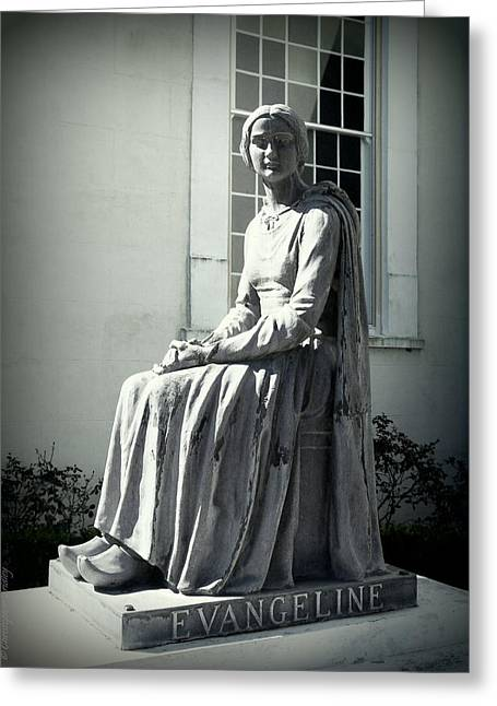 Martinville Greeting Cards - Evangeline  Greeting Card by Christopher Fridley