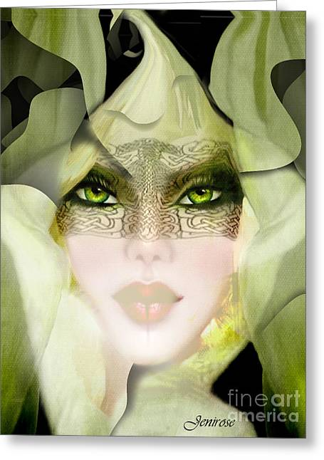 Rosyhall Greeting Cards - Eve Greeting Card by Rosy Hall