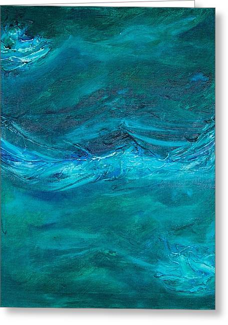Obey Paintings Greeting Cards - Even the Wind and Waves Obey Greeting Card by Mike Brennan