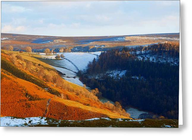 Evening At The Horseshoe Pass Greeting Card by Brainwave Pictures