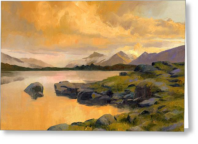 Chords Greeting Cards - Evening Light Greeting Card by Douglas Girard