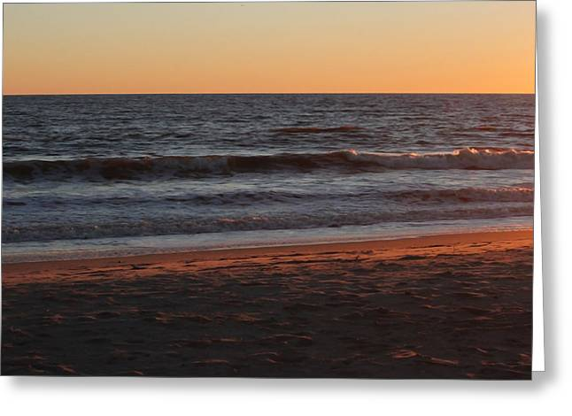 Sunset Greeting Cards Greeting Cards - Evening Light III Greeting Card by Suzanne Gaff