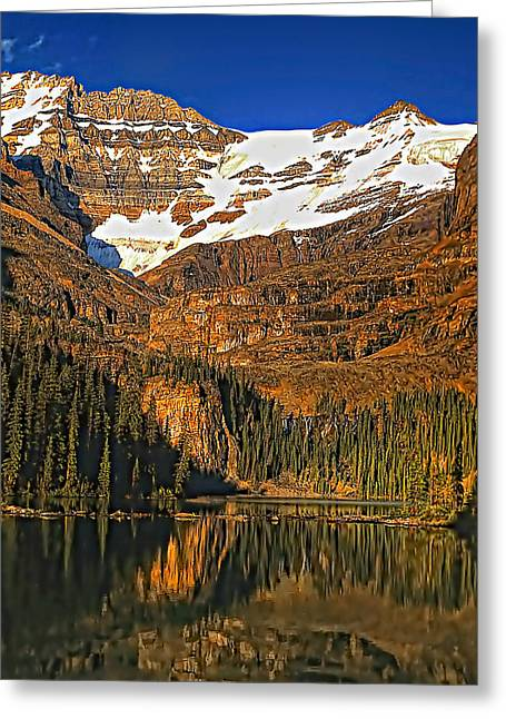 Evening On The Great Divide Greeting Card by Steve Harrington