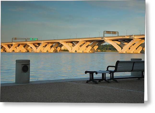River Prints Greeting Cards - Evening On The Potomac II Greeting Card by Steven Ainsworth