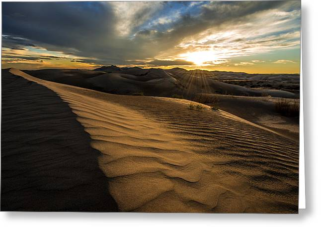 Evening Ripples Greeting Card by Chad Dutson