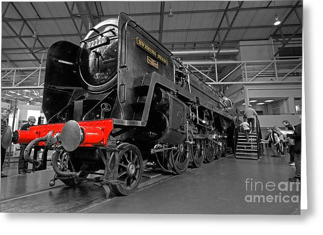 Selective Colouring Photographs Greeting Cards - Evening Star Greeting Card by Rob Hawkins