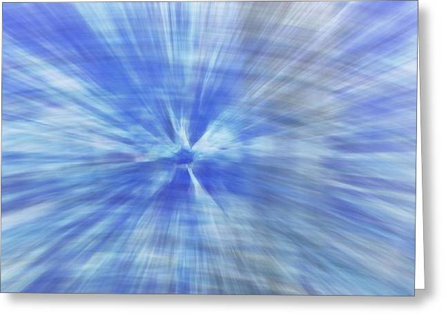 Warp Greeting Cards - Event Horizon Greeting Card by Dan Sproul