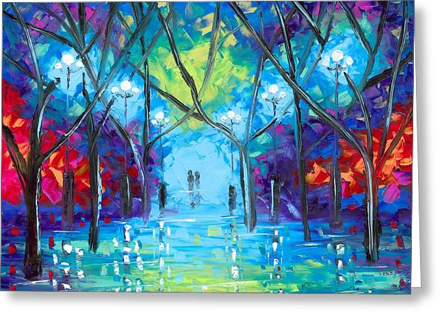 Jessilyn Park Greeting Cards - Ever After Greeting Card by Jessilyn Park