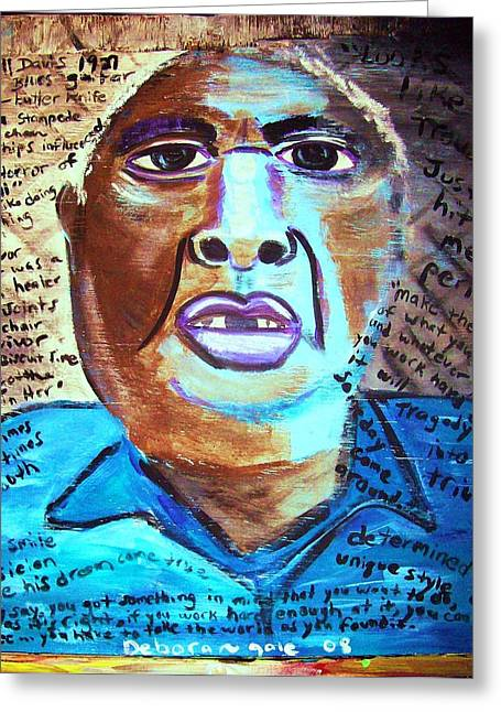 Survivor Art Greeting Cards - Ever Had a BAd Day? Greeting Card by Debora PeaceSwirl D