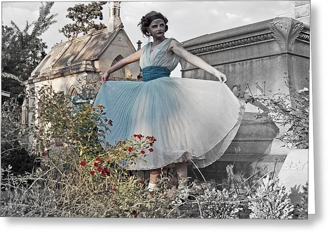 Ever Seen An Alice With A Blossom Like That Greeting Card by Tracy  Tanner