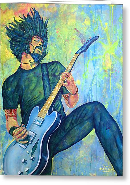 Recently Sold -  - Dave Greeting Cards - Everlong Greeting Card by Tim Hazelton
