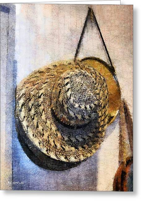 Apparel Greeting Cards - Every Cowgirl Needs A Hat Greeting Card by RC deWinter