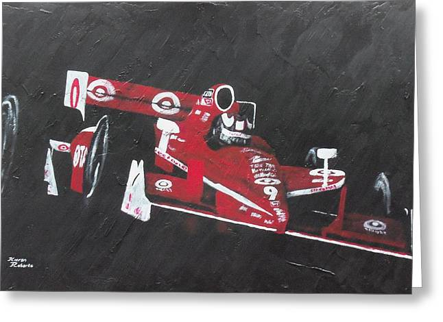 Indycar Greeting Cards - Every five years Greeting Card by Kieran Roberts