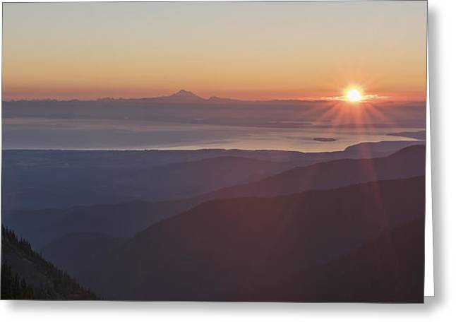 Olympic National Park Greeting Cards - Every Morning Greeting Card by Jon Glaser