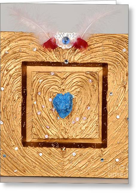 Spirit Reliefs Greeting Cards - Every soul is royal Greeting Card by Heidi Sieber